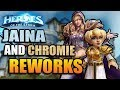 Jaina and Chromie Reworks! // The Wednesday Show // Heroes of the Storm