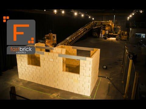 Fastbrick Robotics Временной интервал