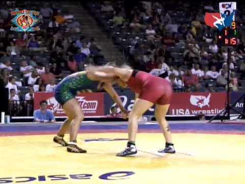 World Team Trials Finals: 72kg -  2X World Univ. Champ Stephany Lee vs. 2X Olympian Ali Bernard Match 1