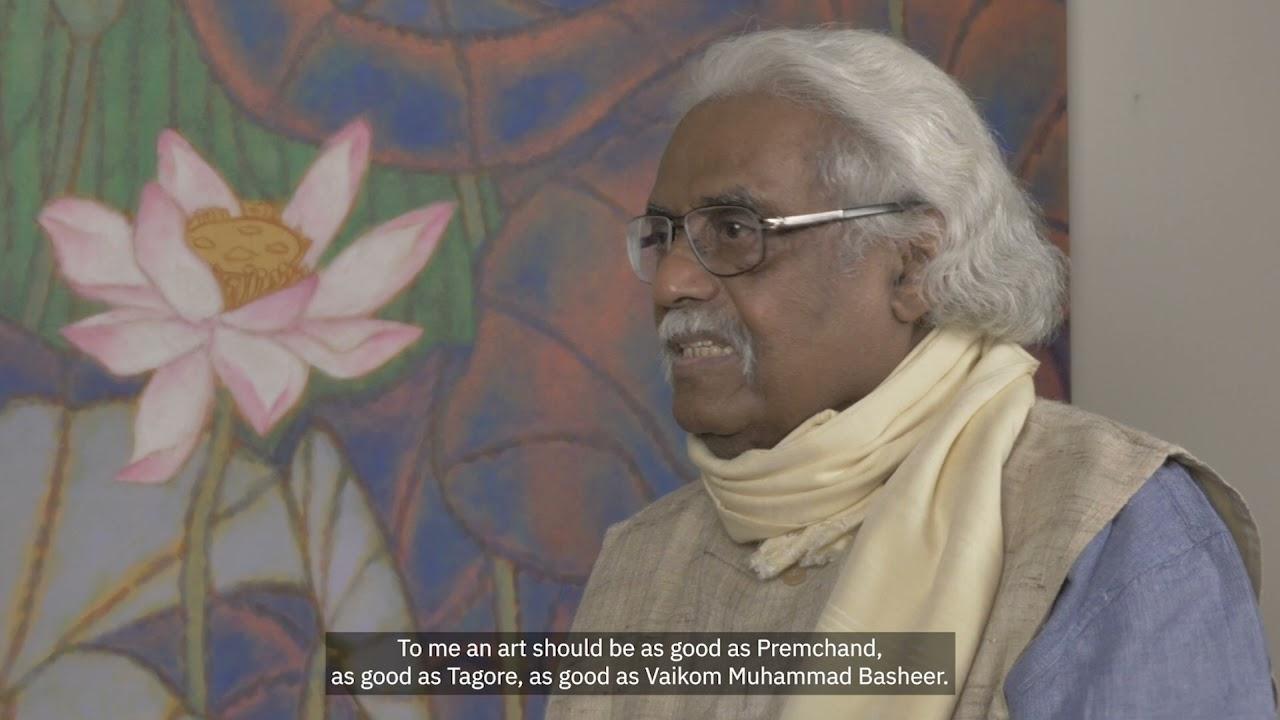 Ella Datta in Conversation with A. Ramachandran: Indianising Indian Art
