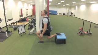 Exercise Index: Isometric splitsquat holds
