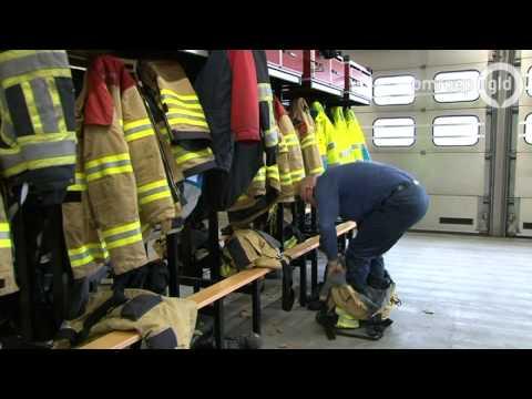 Zaklantaarns gestolen uit brandweerauto