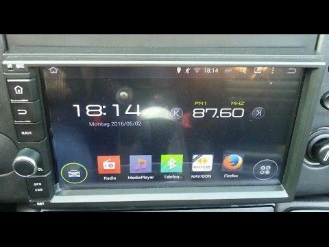 Einstellungen des Naviskauto C0255 Android Autoradio 7 Zoll 4.4 QuadCore