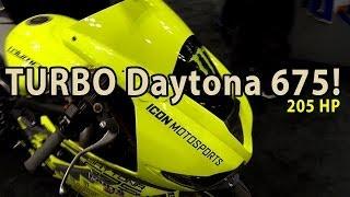 9. Triumph Daytona 675 TURBO with 205HP! Driftpocalypse!