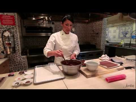 truffles - Jordan Winery's baker extraordinaire, Cristina Valencia, returns to show tips and techniques for making the perfect chocolate truffle. Cristina teaches you h...