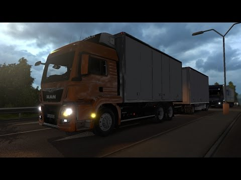 MAN TGS-L v4.0 + Trailers