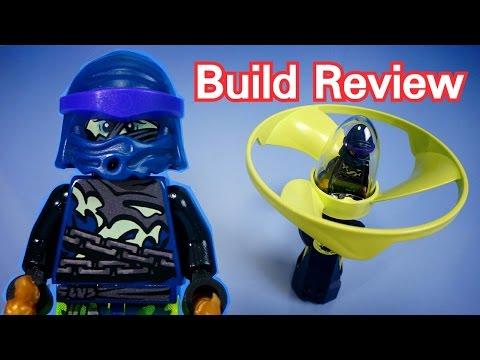 Vidéo LEGO Ninjago 70744 : Airjitzu de Wrayth