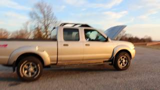5. $6,995 - 2004 Nissan Frontier XE Crew 4x4 Long Bed For Sale~Auto~Alloys~V6~Runs Great~