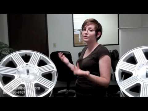 Navigator Rims & Navigator Wheels - Video of Lincoln Factory, Original, OEM, stock used rim
