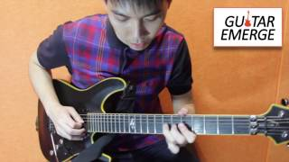 Guitar Emerge - Lick Of The Week - Dorian Fusion (Jobb Lim)