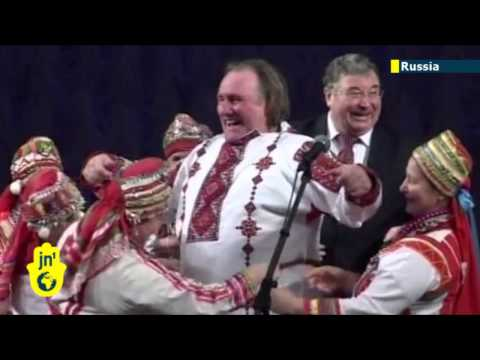 Depardieu becomes a Russian: French actor embraces his new country as Russians rejoice