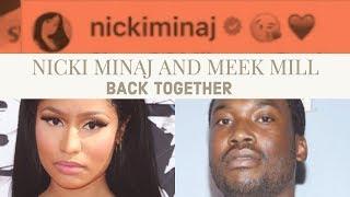 Nicki Minaj and Meek Mill Back Together. Thats The Rumor