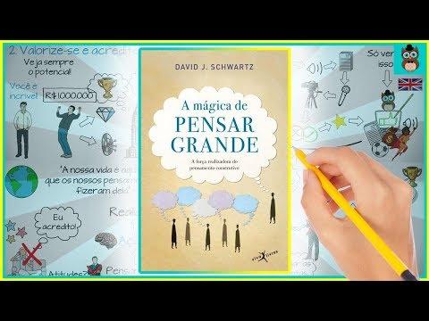 A MÁGICA DE PENSAR GRANDE | David J  Schwartz | Resumo animado