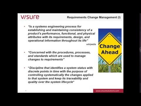 Chapter VII: Change Management
