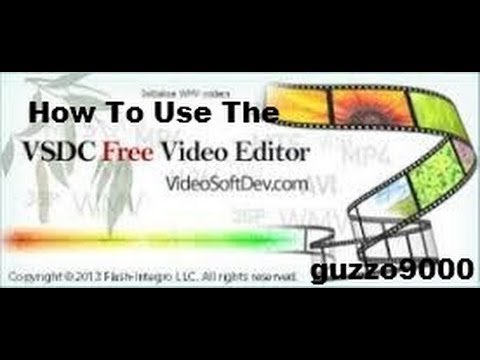 VSDC Free Video Editor  tutorial