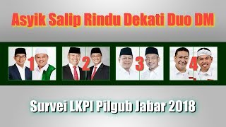 Video Survei LKPI Pilgub Jabar 2018, Sudrajat Ahmad Syaikhu Asyik Mengungguli Rindu Mendekati Duo DM MP3, 3GP, MP4, WEBM, AVI, FLV November 2018