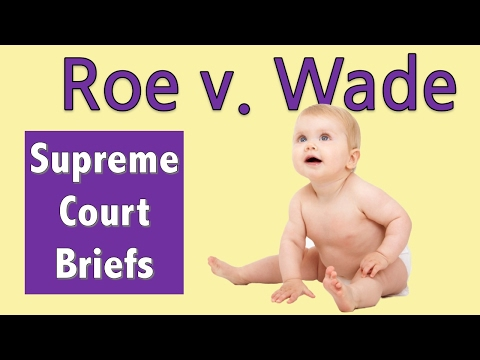When Abortion Became Legal | Roe V. Wade
