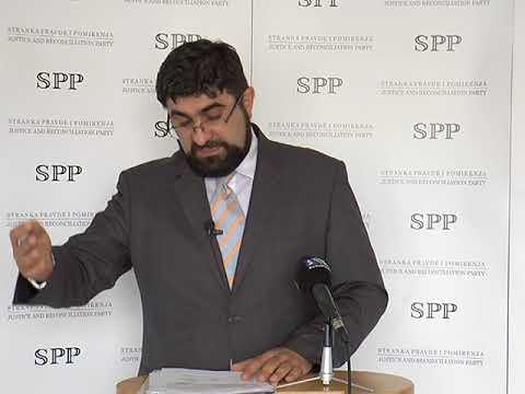 Šef odborničkog kluba SPP NP dr. Fehratović o problemima u gradu