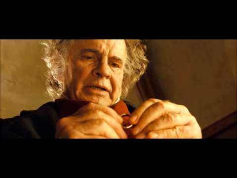 Bilbo - Gandalf intercepts Bilbo in Bag End when he is about to leave the Shire for good, and sees that Bilbo has started to become corrupted by the Ring. (HD Blu-ra...