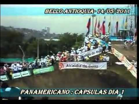 PANAMERICANO 2011 COLOMBIA EM BELLO 14-05-2011 @bmxdj