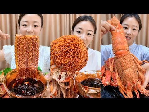 Eat octopus with chili, giant squid, crab with 5 pounds - SPICY FOOD COMPILATION [29]