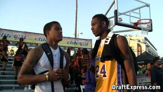 Rakeem Christmas & Jabari Brown - DraftExpress - 2010 Boost Mobile Elite 24