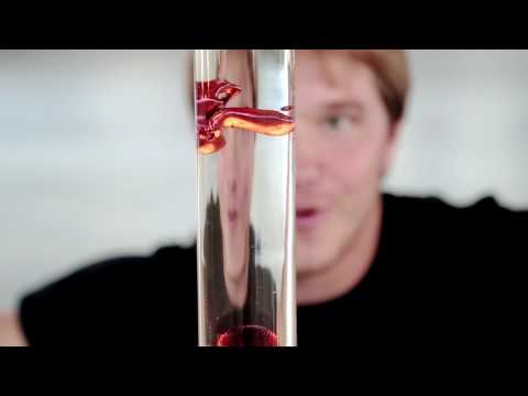 Colored Ferrofluid Displays Amazing