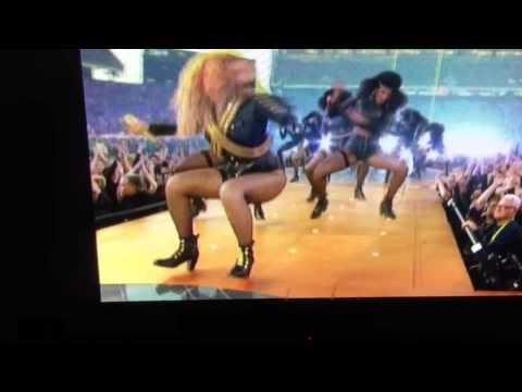 Beyonce Almost Falls During Super Bowl Halftime Performance [VIDEO]