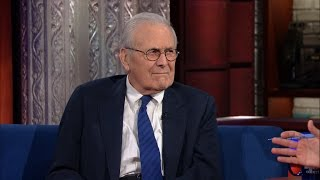 Video Stephen Gets A Straight Answer Out Of Donald Rumsfeld MP3, 3GP, MP4, WEBM, AVI, FLV Oktober 2018