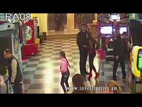 Բջջային հեռախոսի գողություն՝ մանկական սրճարանից (տեսանյութ)