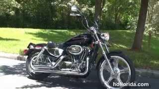 10. Used 2004 Harley Davidson 1200 Custom Motorcycles for sale
