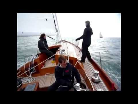 Spirit Yachts Spirit 60 hitting 16 knots in the Solent