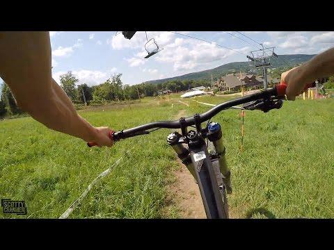 EPIC DOWNHILL MOUNTAIN BIKE DAY! (видео)