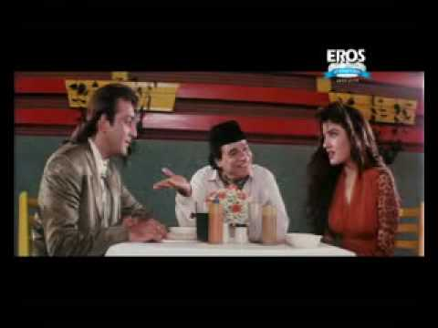 Raveena Sanjay in comedy scene from movie Aatish