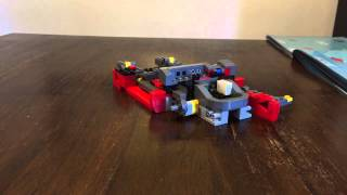 LEGO 10248 Creator Expert, Ferrari F40 time lapse build