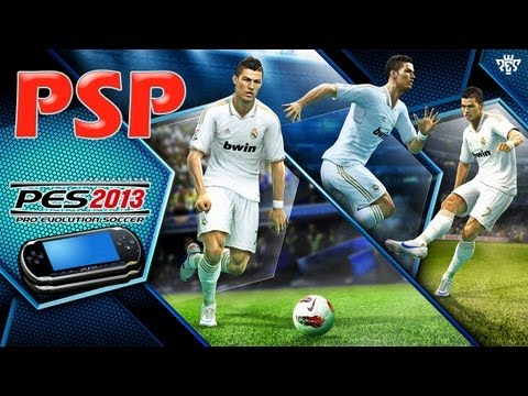 PRO EVOLUTION SOCCER 2013 – PSP – Gameplay – FC Barcelona Vs Real Madrid  [HD] (1/2)