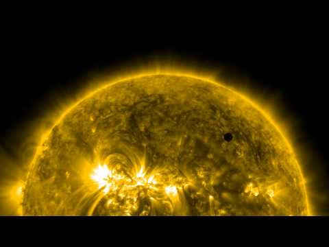 NASA - SDO Ultra-high Def View Of 2012 Venus Transit