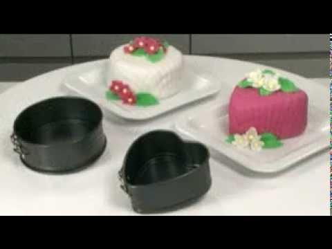 Видео Формы с антипригарным покрытием Tescoma Форма для торта раскладная DELÍCIA ø 12 см Tescoma 623246