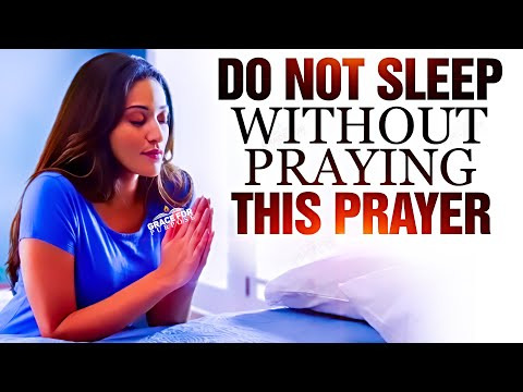 A Prayer Before Bed | Sleep In God's Blessings
