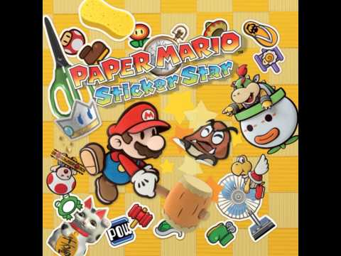 Paper Mario Sticker Star OST - Cave