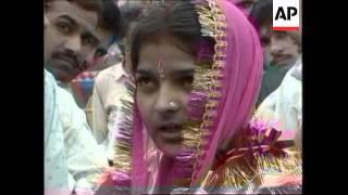 Ambala India  city photos : INDIA: AMBALA: MASS WEDDING