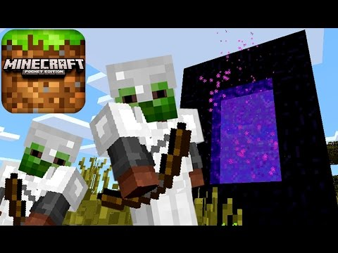 Лучшие Серии - Майнкрафт Адская Крепость - Портал в АД - Кока Плей ЛетсПлей - Minecraft PE Survival