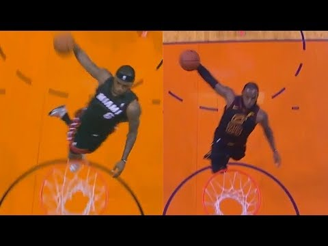 LeBron James Recreates His Windmill Dunk vs the Suns The Exact Same Way!
