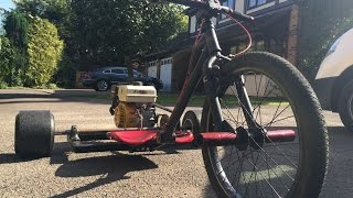 Building the GX200 motorized drift trike (with time lapse)