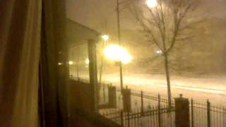 2011 Chicago Groundhog Day Blizzard Timelapse