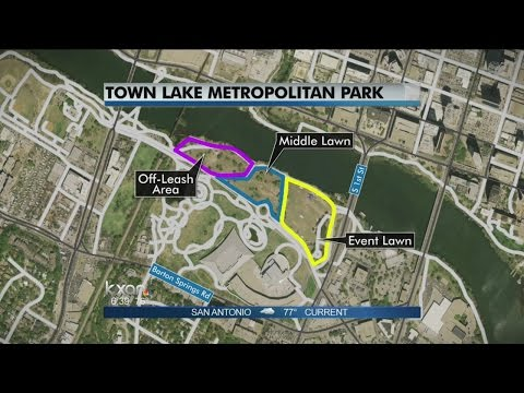 Lake - The city of Austin is working with an advisory firm, to finish a study on how to improve Town Lake Metropolitan Park.