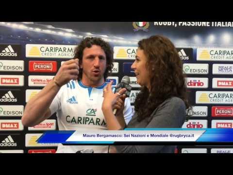 6 Nazioni 2015:  Mauro Bergamasco tra 6 Nazioni e Mondiale