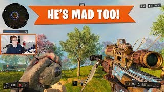 HE'S MAD TOO! | Black Ops 4 Blackout | PS4 Pro