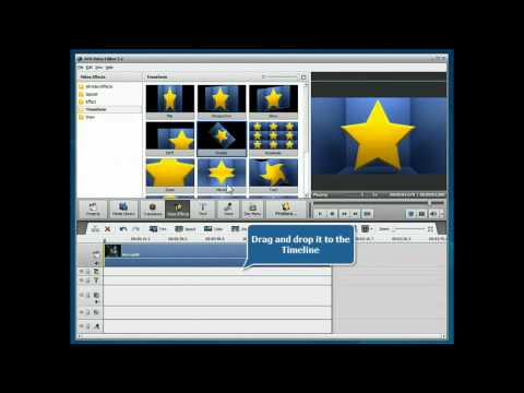 How to rotate video using AVS Video Editor?