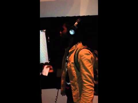 Chronixx dub session 2014